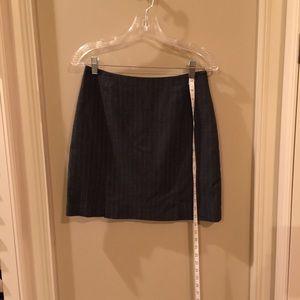 Penn Stripped mini skirt